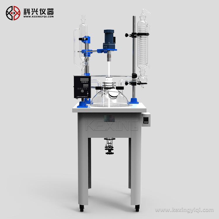 单层玻璃反应釜(加热套式)
